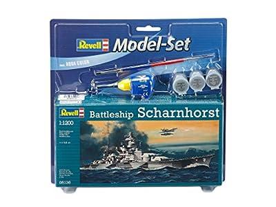"""Revell GmbH 165445,4cm (cuirassé Scharnhorst """"Ensemble de modèle"""