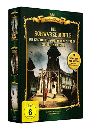 Preisvergleich Produktbild Märchen-Box 1 (Die schwarze Mühle - Die Geschichte vom goldenen Taler - Die Regentrude) 3 DVDs