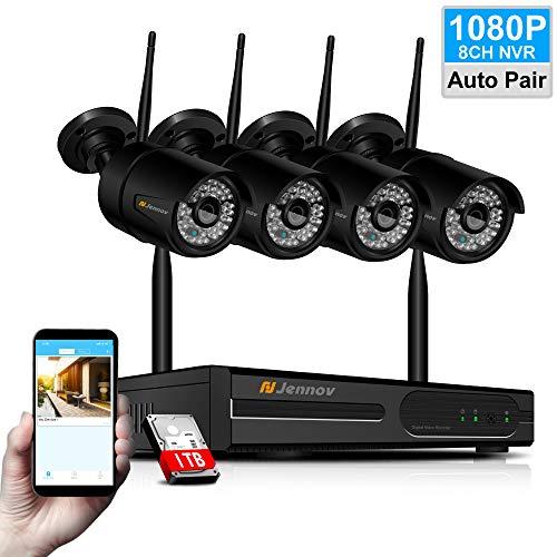 Jennov 1080P Überwachungskamera Außen Sicherheitskamera gebraucht kaufen  Wird an jeden Ort in Deutschland