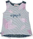 boboli 205108, Camiseta sin Mangas para Bebés, (Listado Bicolor), One Size (Tamaño del Fabricante:4)