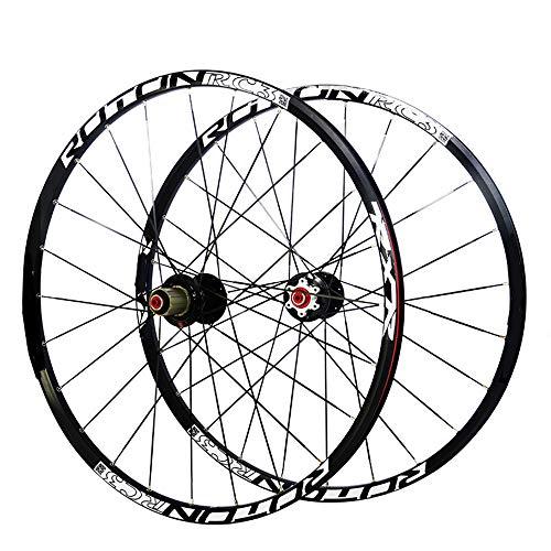 Wanlianer-Sports Fahrradfelge Ultraleichte 26 Zoll Carbonfaser MTB Mountainbike Fahrradfelge Alufelge Carbon Hub Räder Laufradsatz Felgen MTB-Mountainbike