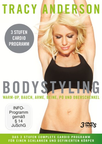 Tracy Anderson - Bodystyling: Stufe 1-3 [3 DVDs] (Methode Dvd Tracy Anderson)