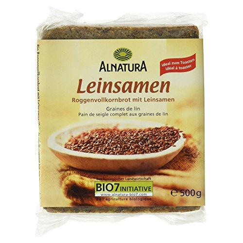 Alnatura Bio Leinsamen Brot, 500 g