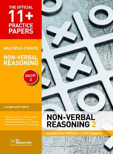 11+ Practice Papers, Non-Verbal Reasoning Pack 2 (Multiple Choice): NVR Test 5, NVR Test 6, NVR Test 7, NVR Test 8 (The Official 11+ Practice Papers) by Educational Experts (2011-02-01)