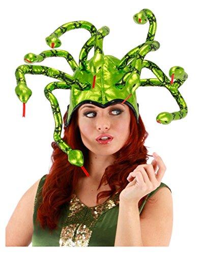 Medusa griechische Schlangen Göttin Kopfschmuck für Halloween & Karneval