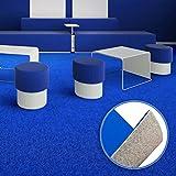 Floori® Premium Nadelfilz Teppich, GUT-Siegel, emissions- und geruchsfrei, wasserabweisend, 1200 g/qm | Größe wählbar (200x200cm)