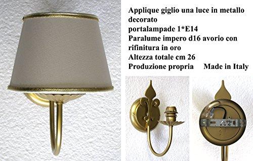 Idea illuminazione e arredamento casa: Lampada da parete Applique a muro a...