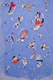 Sky Blue, Wassily Kandinsky. Blank journal: 160 blank pages, 6 x 9 inch (15.24 x 22.86 cm) Soft cover
