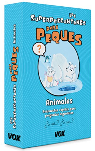 Los Superpreguntones Para peques. Animales (Vox - Infantil / Juvenil - Castellano - A Partir De 5/6 Años - Los Superpreguntones) por Larousse Editorial