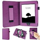 Étui de protection de protection pour Kindle Paperwhite Étui eBook Reader Violet Bag nauc