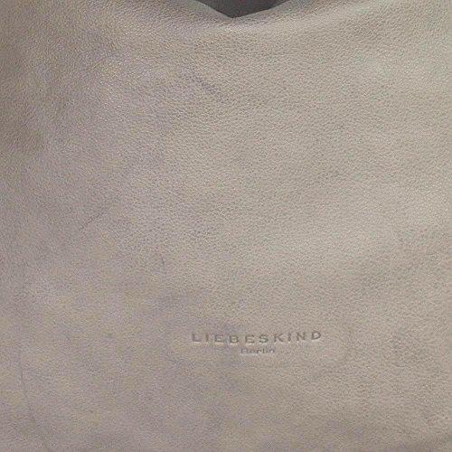 Liebeskind Yokohama Sac à main porté épaule cuir 40 cm dark stone