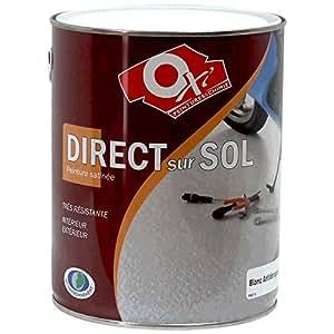 Oxi SOL2.5GC Peinture direct sol 2,5 L Gris Clair