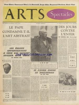 ARTS [No 342] du 18/01/1952