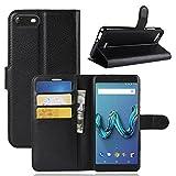 ECENCE Wiko Tommy 3 Phone Case Cover Wallet Flip Magnet Bag
