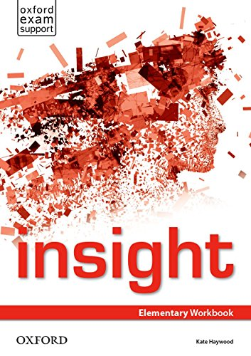 Insight Elementary. Workbook por Jayne Wildman
