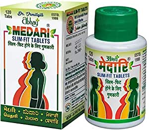 Abhay Medari Slim Fit Tablets Weight Loss Supplement Effective