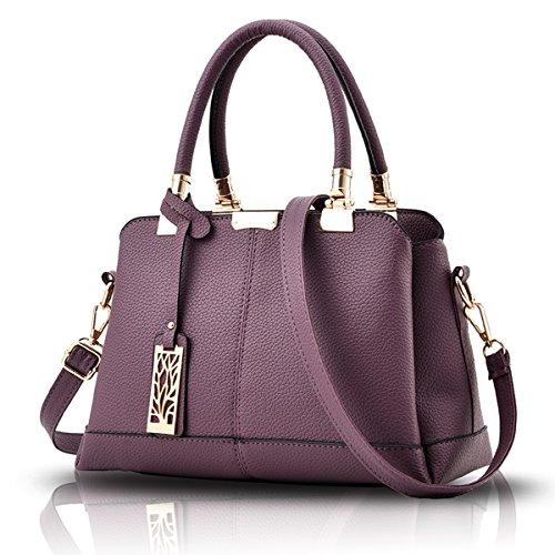 Tisdaini Il raccoglitore elegante del sacchetto di spalla della borsa delle  donne tre strati delle borse