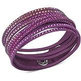 Swarovski Kristall-Fuchsia Slake Ruby Armband