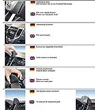 KUDA Navigationskonsole (LHD) für Navi Hyundai iX20 ab 03/2011/Echtleder schwarz