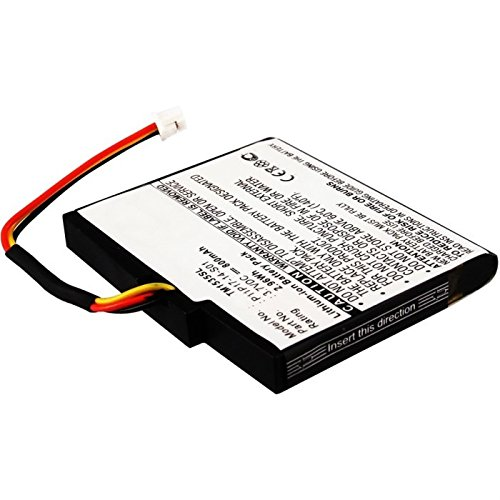 subtel® Qualitäts Akku kompatibel mit Tomtom Via 1505 / Via 1535 / Via 135 - P11P17-14-S01 (800mAh) Ersatzakku Batterie