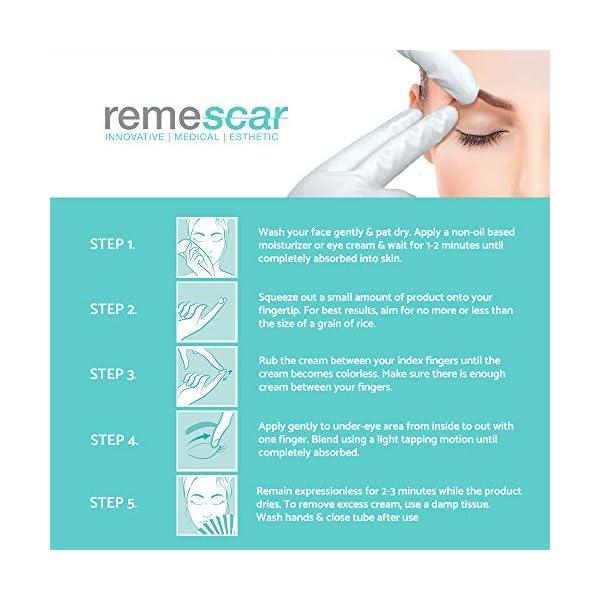 Remescar Párpados caídos Crema de efecto lifting para reducir las bolsas Crema de ojos antienvejecimiento probada clínicamente para hombre y
