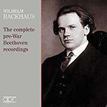 Beethoven/Bach: The complete pre-war Beethoven recordings [Wilhelm Backhaus] [Apr: APR_6027]