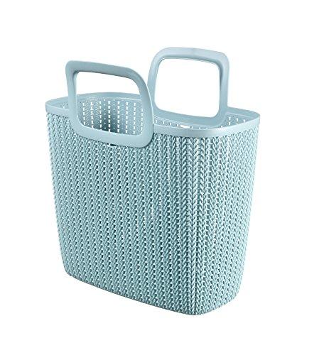 Curver 3253923972016 Shopping Bag - Shopping Bags (Reusable Shopping Bag, Azul, Prendas de Punto)