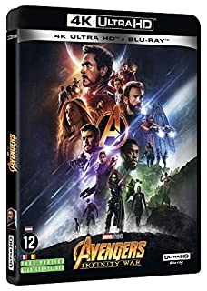 Avengers Infinity War - 4K + Blu-Ray 2D + bonus [4K Ultra HD + Blu-ray] (B07CMMC4YJ) | Amazon price tracker / tracking, Amazon price history charts, Amazon price watches, Amazon price drop alerts