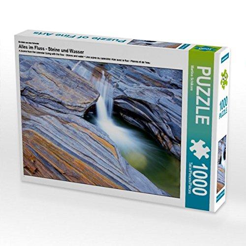 Ein Motiv aus dem Kalender Alles im Fluss - Steine und Wasser 1000 Teile Puzzle quer (CALVENDO Natur)