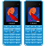 Ikall K2180 Selfie Feature Dual Sim 1.8 Inch Mobile Phone,Blue & Blue