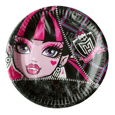 NEU Teller Monster High, 23 cm, 8 Stk.