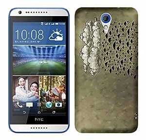 WOW Printed Designer Mobile Case Back Cover For HTC Desire 820 Mini