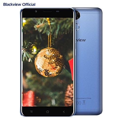 Blackview Moviles Libres Baratos  P2 Lite Tel  fono libre  6000mAh  Android 7 0  Octa Core  3GB RAM  32GB ROM  5 5 pulgadas FHD  13MP C  mara Dual SIM
