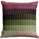 Roros Tweed - Modell Asmund Gradient - Kissen im Dessin 104251 Pink-Green