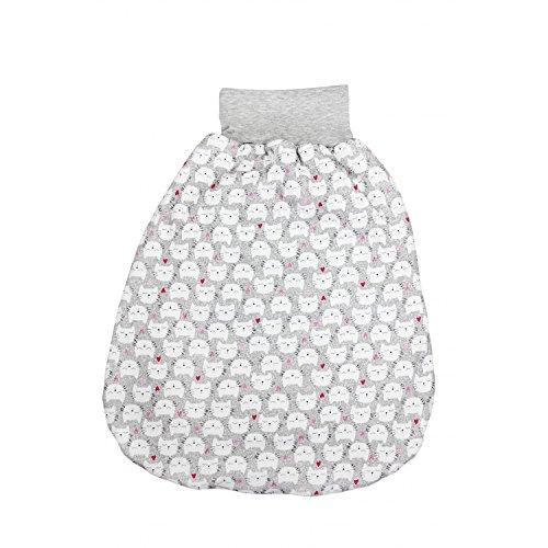 ... TupTam Baby Unisex Strampelsack Mit Breitem Bund Wattiert , Farbe:  Katzen Und Herzen, Größe ...