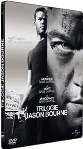 Jason Bourne - Coffret trilogie : La mémoire dans la peau + La mort dans la peau + La vengeance dans la peau [Pack Collector boîtier SteelBook]