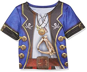 Rubies-i-630865s-Camiseta sublimación Pirata para niño-Talla S