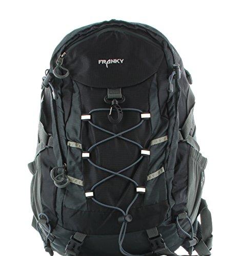 Preisvergleich Produktbild Franky RS Rucksack mit Laptopfach 48 cm schwarz/grau