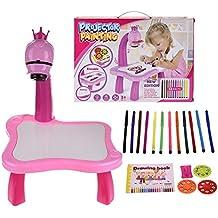 Chengstore - Juego de Pintura con proyector para niños, Multifuncional, Inteligente, máquina de