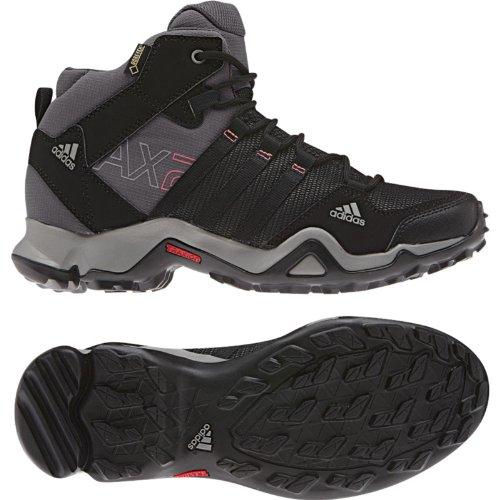 Adidas Ax 2 Mid Gtx Boot - Carbon / Noir / Sharp Gris 5 Carbon / Black / Sharp Grey