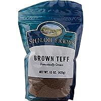 Domestic Brown Teff Grain 15 Ounces (Case of 6) by Shiloh Farms preisvergleich bei billige-tabletten.eu