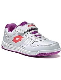 Lotto Set Ace X Cl Sl, Zapatillas de Tenis Unisex Bebé