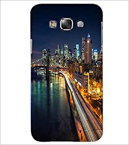 PrintDhaba Maine Drive D-2036 Back Case Cover for SAMSUNG GALAXY A7 (Multi-Coloured)