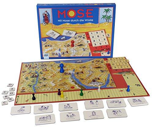 Christliche Geschenkideen °°Gesellschaftsspiel Brettspiel Mose (Spiele Christliche Weihnachten Erwachsene Für)