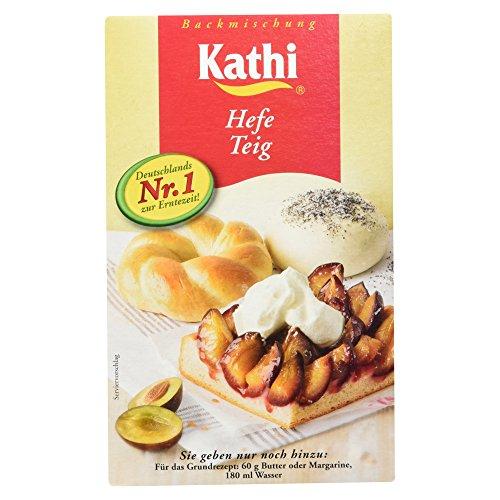 Kathi Teigbackmischung für Hefe Teig, 7er Pack (7 x 400 g)