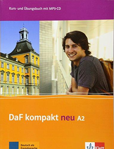 DaF kompakt neu A2: Kurs- und Übungsbuch mit MP3-CD
