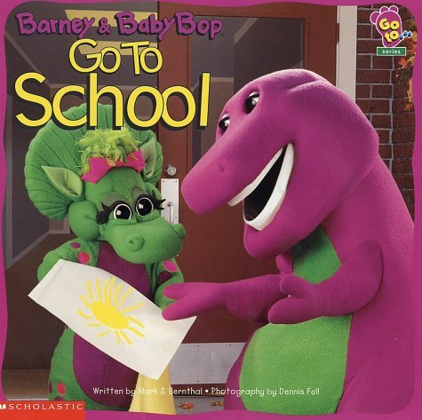 Barney And Baby Bop Go To School by Scholastic Inc. (1997-11-01) (Barney, Baby Bop)