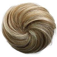 PRETTYSHOP 100% pelo real cabello humano Moño, Postizo, Trenza, Moño de estilo