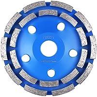 FIXKIT Diamantschleifscheibe, Diamantschleiftopf, universal für Beton, Mauerwerk, Marmor, Granit 125*22.23mm blau (125mmφ)