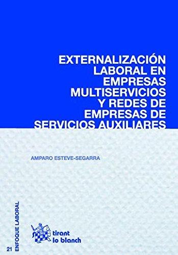 Libro Externalización de servicios